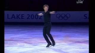 getlinkyoutube.com-Alexei Yagudin  Olympics 2002 Exhibition   Overcome