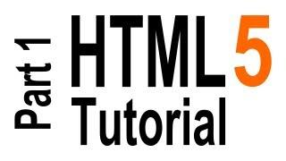 getlinkyoutube.com-HTML5 Tutorial For Beginners - part 1 of 6 - Getting Started