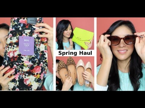 HUGE Spring Fashion Haul - F21, H&M, Target, TOBI and more!