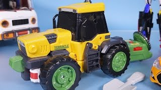getlinkyoutube.com-TOBOT transformers 또봇 테라클 신제품, 헬로카봇 장난감 놀이 New TOBOT TERACLE robot car toy
