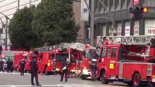 getlinkyoutube.com-非常に緊急事態です東京消防庁 救急車 上野です 2013年。