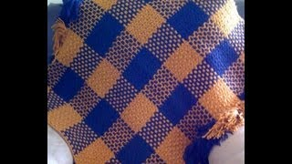 getlinkyoutube.com-Crochet - Weave a Basic Filet Mesh