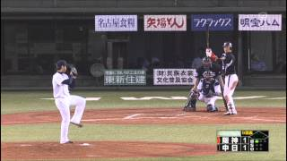 getlinkyoutube.com-新井良太 決勝ホームラン 西岡と抱き合う 阪神タイガース 2013