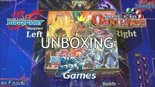 getlinkyoutube.com-Future Card Buddyfight H-BT03 Assault of the Omni Lords Unboxing
