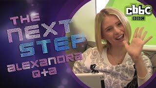 getlinkyoutube.com-The Next Step: Emily - Alexandra Beaton answers fan questions on CBBC