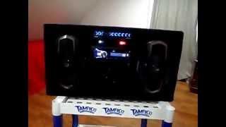 getlinkyoutube.com-Car audio en casa ( tipo portatil )
