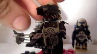 getlinkyoutube.com-Custom Lego Star Wars Clone Commander Thorn Minifigure