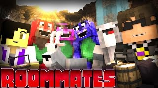"Minecraft ROOMMATES! - ""BARNEY GOES HOME!"" S2 #4 (Minecraft Roleplay)"