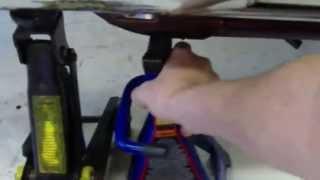 getlinkyoutube.com-How to Lift a Motorcycle Using Homemade Tools