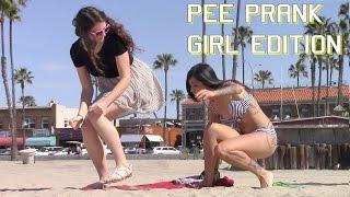 getlinkyoutube.com-Girl Peeing on Girls PRANK