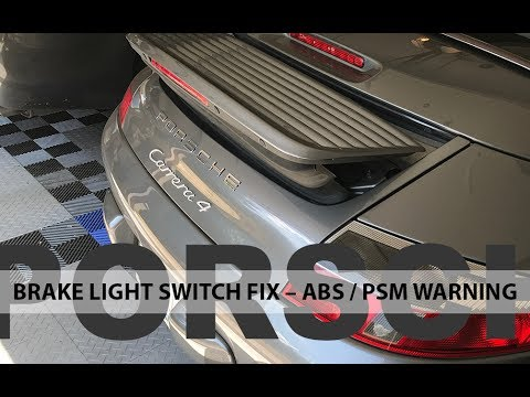 $20 Solution for ABS and PSM Warning Lights (Porsche 911 996.2)