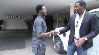 getlinkyoutube.com-Ay Comedy Skit - Ay Fights Ghanaian Actor John Dumelo