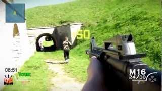 getlinkyoutube.com-Modern Warfare 2: IRL First Person Shooter