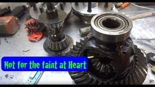 getlinkyoutube.com-Pinion and Bearing Removal and Install New Bearing Races