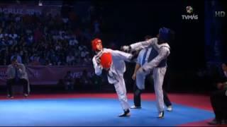 Juegos Centroamericanos y del Caribe Veracruz 2014, Taekwondo (Momentos)