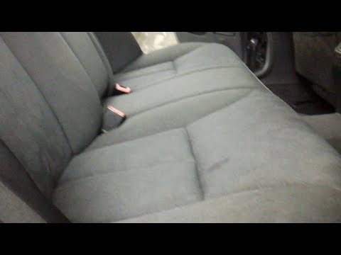 Как снять задние сиденья Мерседес W-210. (how to remove the rear seats Mersedes w210)