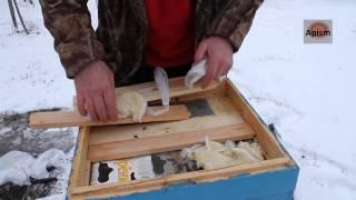 getlinkyoutube.com-Зимняя подкормка пчёл (в исключительных случаях)