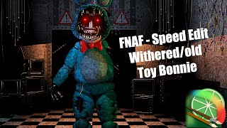 getlinkyoutube.com-[Speed Edit]Making Withered/old Toy bonnie - Haciendo a Marchito/viejo Toy bonnie
