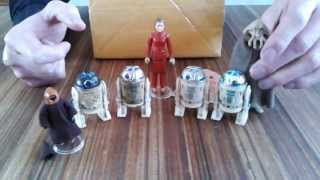 getlinkyoutube.com-Lili Ledy Vintage Star Wars Figures from Mexico