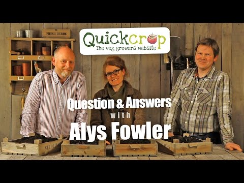 Gardening Questions and Answers with Alys Fowler