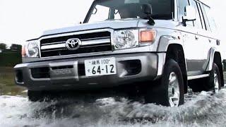 getlinkyoutube.com-トヨタ・ランドクルーザー70 バン 試乗インプレッション 走行編