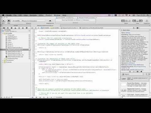 iPhone Tutorials: XML Parsing Part 3