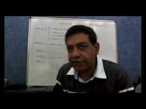 Horary Astrology - Lecture 1