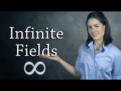Field Examples - Infinite Fields  (Abstract Algebra)