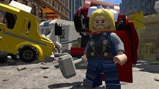 getlinkyoutube.com-LEGO Marvel's Avengers - Gameplay Demo (MCM Comic Con)