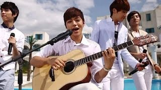 getlinkyoutube.com-Infinite - In the summer, 인피니트 - 그 해 여름, Music Core 20120630