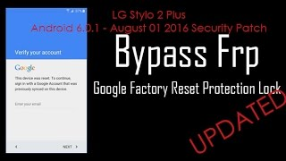 getlinkyoutube.com-UPDATED: LG Android 6.0.1 FRP Bypass - 08/01/2016 Security Patch Google Account