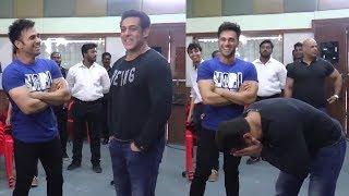 Salman Khan's Funny Moments With 'Fukrey Returns' Team On Bigg Boss 11 Set