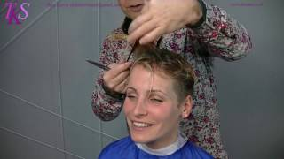 getlinkyoutube.com-Short Asymmetrical Pixie Hairstyle in a Trend Color! Maria by T.K.S.