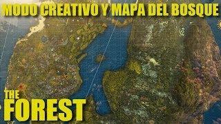 getlinkyoutube.com-MODO CREATIVO EN THE FOREST + MAPA DE TODO EL BOSQUE