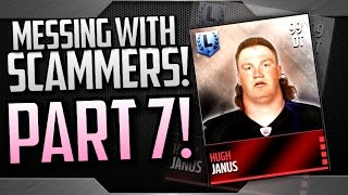 getlinkyoutube.com-Messing With Scammers! Part 7 (Hugh Janus) Madden Mobile 16