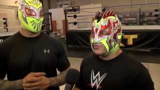 getlinkyoutube.com-The Lucha Dragons Interview: Sin Cara & Kalisto on NXT, WWE's Performance Center & Dream Matches