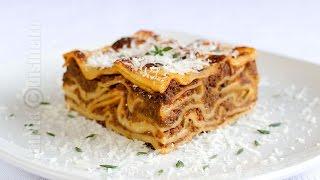 getlinkyoutube.com-Lasagna Bolognese | JamilaCuisine