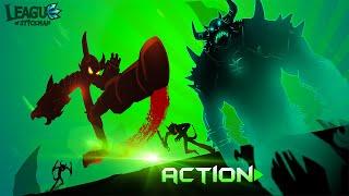 getlinkyoutube.com-League of Stickman Android Gameplay (HD)