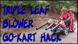Leaf Blower Go-Kart Lifehack – Make Science Fun