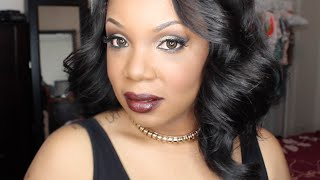 getlinkyoutube.com-GRWM   Happy New Year Chit Chat and Party Look Makeup Tutotrial