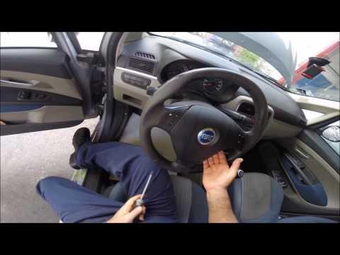 Smontaggio Airbag Fiat Grande Punto - Remove Fiat Grande Punto Airbag