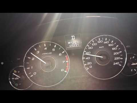 Страшный звук Subaru Outback 2011 CVT