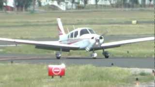 getlinkyoutube.com-Piper Warrior, N5663V at KPOC on 5/7/12