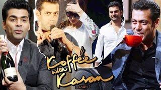 getlinkyoutube.com-Salman Khan On 100th Episode Of Koffee With Karan, Salman REACTS on Malaika - Arbaaz DIVORCE