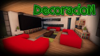 getlinkyoutube.com-Como decorar una casa moderna en Minecraft! - Tutoriales de Decoración!