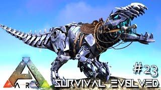 getlinkyoutube.com-ARK: SURVIVAL EVOLVED - BIONIC GIGA & CRAZY TAMING !!! E23 (MODDED ARK ANNUNAKI EXTINCTION CORE)