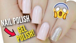 getlinkyoutube.com-Transform Your Nail Polish Into Gel Polish!
