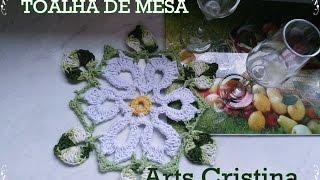 getlinkyoutube.com-TOALHINHA MESA CROCHE 005 - parte 02 | ARTS CRISTINA
