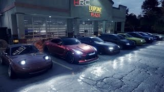 getlinkyoutube.com-Need For Speed 2015 (PS4) | 1XXXHP Night Meet | R32 GTR Build, Cruise, Drags, Spirit Driving & More