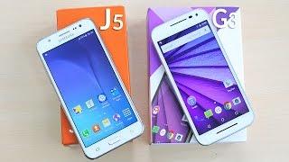 getlinkyoutube.com-Moto G3 3rd Gen & Samsung Galaxy J5 Unboxing & Overview